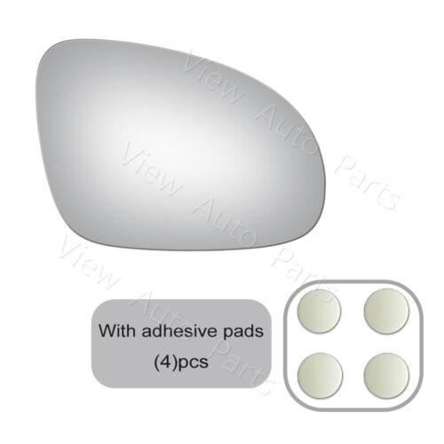 Mirror Glass+Adhesive for  VW Passat Rabbit Jetta GTI EOS Passenger Right Side