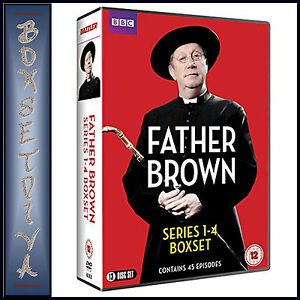 FATHER-BROWN-COMPLETE-SERIES-1-2-3-amp-4-BRAND-NEW-DVD-BOXSET