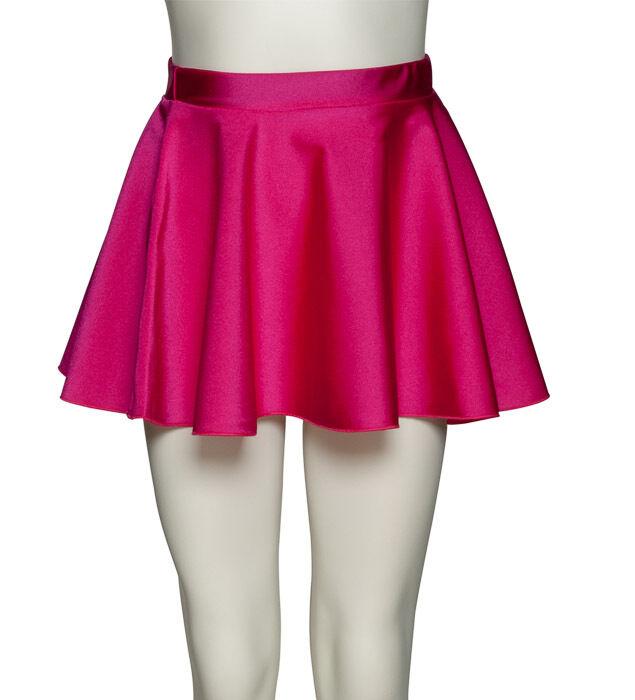 Girls Ladies Nylon Ballet Dance Circular Pull On Skirt By Katz Dancewear KDSK01