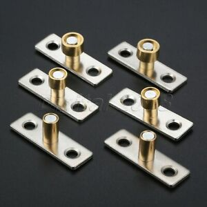 2x-Wood-Door-Sliding-Guide-Locator-Stopper-Cabinet-Drawer-Slides-Hardware-Metal