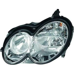 Scheinwerfer-links-Mercedes-CLK-C209-A209-Bj-02-05-H7-H7-YFO