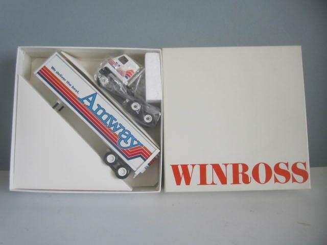 Amway Winross 1 64 Die Cast metal Tractor & Trailer, 1987, NIB