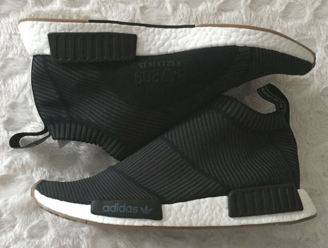 Adidas NMD City Sock 1 CS1 Primeknit PK WhiteGum BA7208