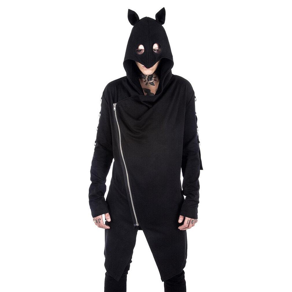 Killstar Gothic Goth Hoodie Kapuzenjacke - Shinjuku Rebel Fledermaus