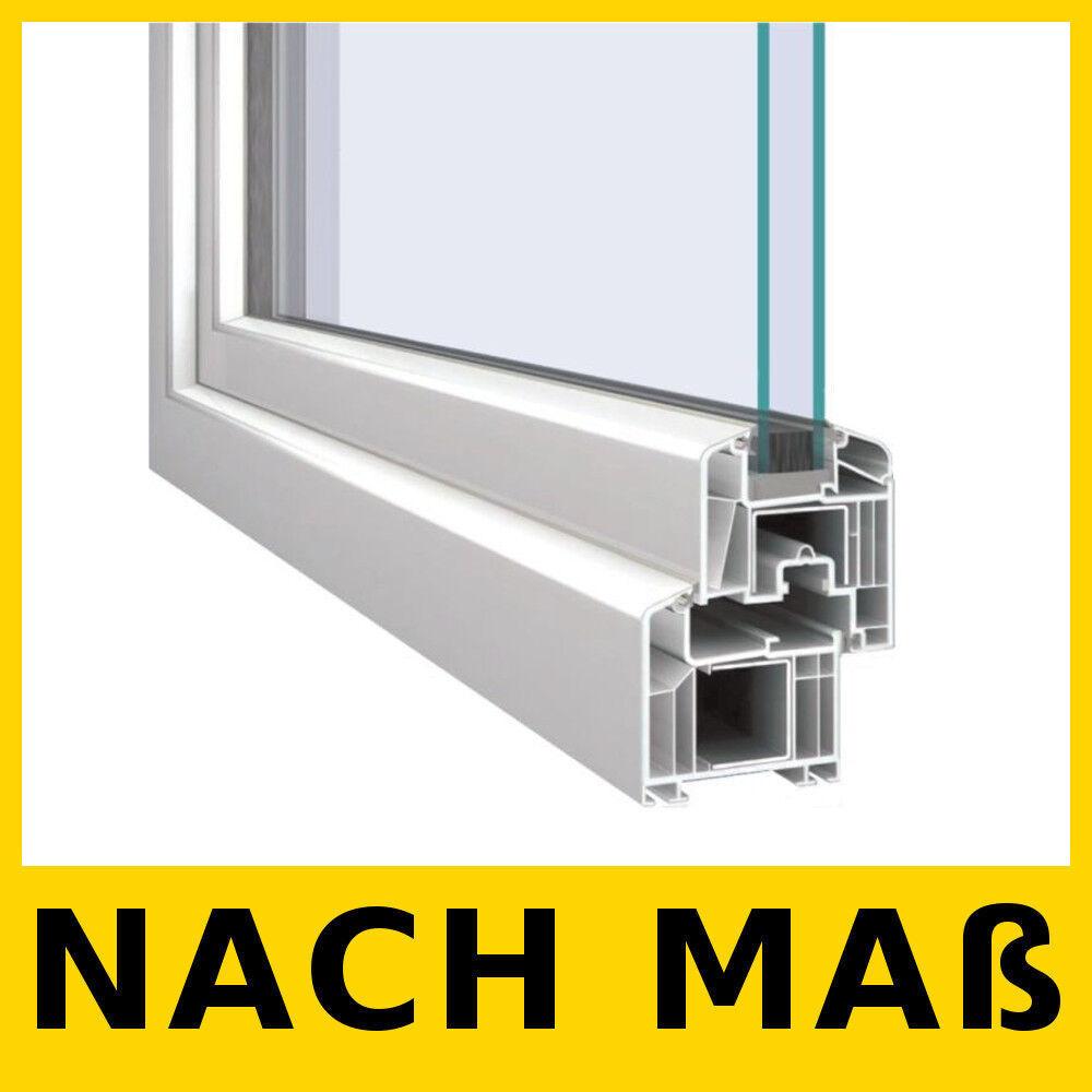 Energiesparen Fenster Kunststofffenster Dreh Kipp 2 Fach Verglast 5-Kammer 71 mm