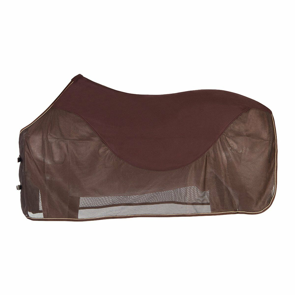 Pfiff Fly Sheet with Fleece Insert - Brown - 155 cm Fly Blanket Horse Blanket