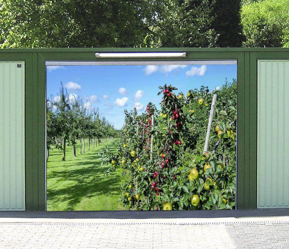 3D Alberi Frutta 1 Garage Porta Stampe Parete Decorazione Murale AJ WALLPAPER IT