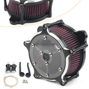 Air-Cleaner-Intake-System-Filter-For-Harley-Touring-CV-Carb-Softail-DYNA-Fat-Bob