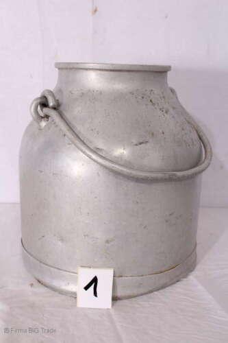 Ausgefallene antike Milchkanne / Kanne / Metallkanne 2 Griffe/ antique milk jug
