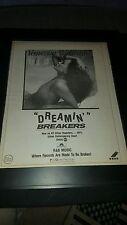 Vanessa Williams Dreamin' Rare Original Radio Promo Poster Ad Framed!