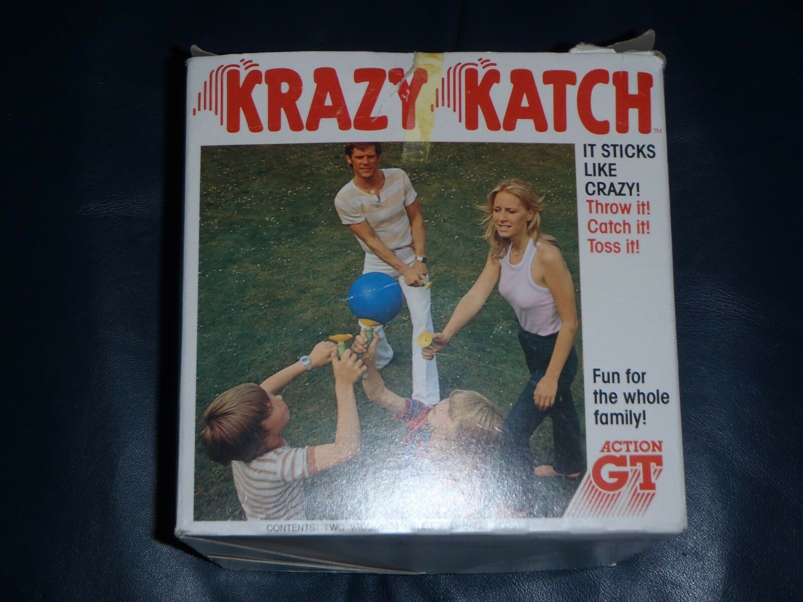 Action GT Krazy Katch Retro   Vintage Outdoor Ball Game