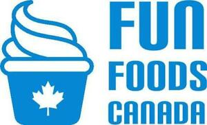 Buy Cone Dips, Frozen Dessert Toppings, Soft Serve Mix and More Online at Fun Foods Canada Ontario Preview