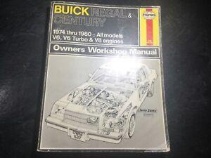 1974-80-Buick-Regal-Buick-Century-Haynes-Manual-Buick-Century-Sport-Coupe-V6-V8