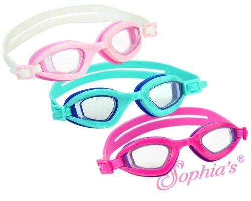 "Sophia/'s® Swim Goggles fits 18/"" Dolls Swim Goggles Pink Purple"