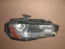 A4 S4 HEADLIGHT RH 8K0941006E AUDI 2013 2014 DAMAGED MODULE DELPHI 28297178 VW