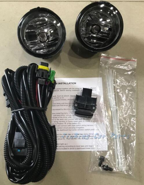 Left Right Fog Lights U0026wiring For Nissan Patrol Y62 2016