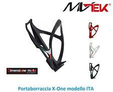 "0190 - Portaboraccia ""MV-TEK"" modello ITA Nero per Bici 26-28 Corsa - Pista"