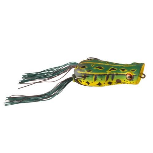 D-Popper Frog 6,5cm Green Daiwa Gummifrosch Angelköder Oberflächenköder