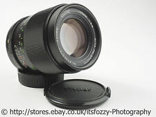 Tokina Vivitar 100mm f/2.8 Prime Portrait Lens Konica AR Mount