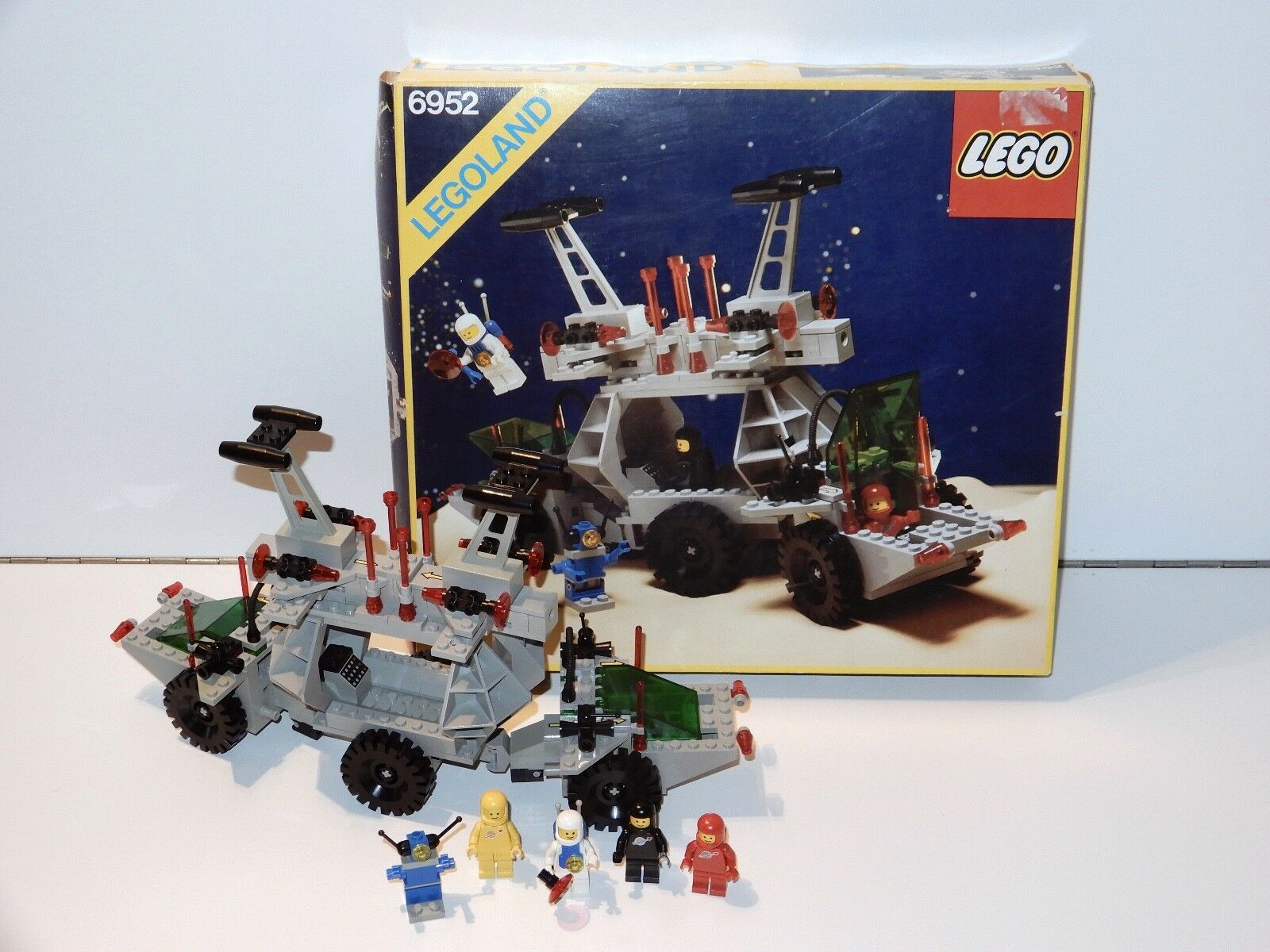 ti renderà soddisfatto LEGO spazio No 6952 SOLAR energia energia energia TRANSPORTER 100% completare w  scatola + INSTRUCTIONS  essere molto richiesto