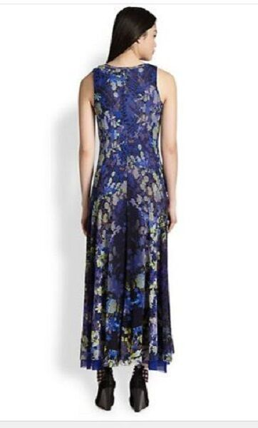 GORGEOUS NWT SOLD OUT FUZZI FLORAL MAXI MESH MESH MESH DRESS BY JEAN PAUL GAULTIER 3e0f2c