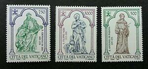 [SJ] Vatican Padua St. Antonius V 1995 Saint (stamp) MNH *recess effect *unusual