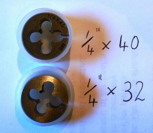 "STUART /& OTHER MODEL LIVE STEAM ENGINE NEW UNUSED ITEM 1//4/"" x 32 tpi CS DIE"