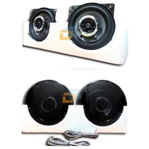 coppia casse auto 250 watt altoparlanti 10 cm 2 vie 250w speaker woofer auto ebay. Black Bedroom Furniture Sets. Home Design Ideas