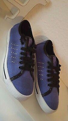 * K-Swiss Skimmer Damen Mädchen Schuhe Halbschuhe violet 37 Neu ***