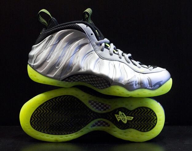 Nike Air Foamposite One Silver Volt Camo 3M Size 11.5. 575420-004 jordan penny