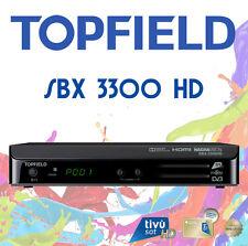 DECODER SATELLITARE DVB-S S2 TIVUSAT TOPFIELD SBX 3300 HD HDMI 1080 CON TESSERA