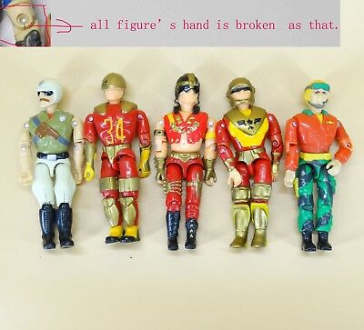Soldier Military action figure hands were broken A3 Lot of 6 LANARD The Corps