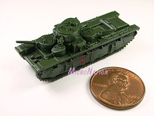 #S1 Furuta Combat Vehicle Miniature Tank Model T-35