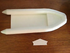 Model Boat Fittings Semi Rigid Inflatable Dinghy 235mm x 92mm CMBA31-20