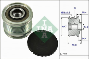 Generatorfreilauf für Generator INA 535 0168 10