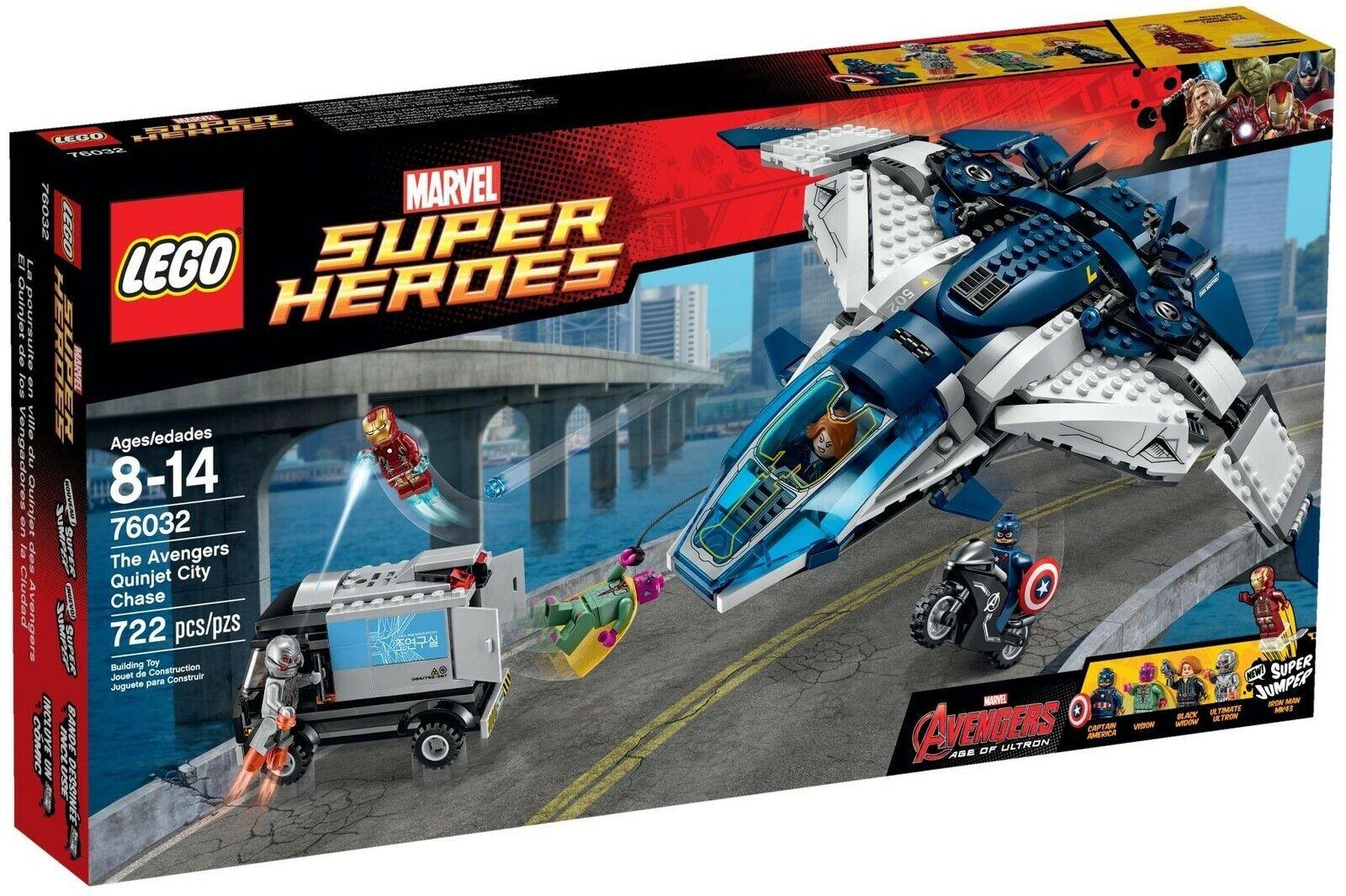 LEGO 76032 AVENGERS QUINJET CITY CHASE NEW MARVEL AVENGERS ultron Sealed