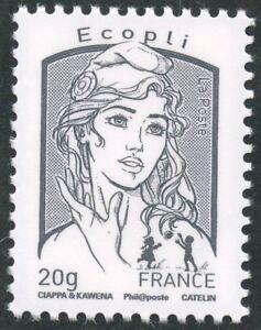 STAMP-TIMBRE-FRANCE-N-4766-MARIANNE-DE-CIAPPIA-ET-KAWENA