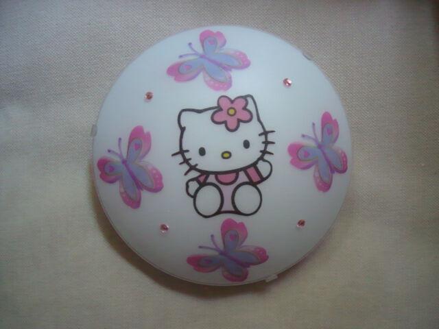 Hello Kitty  Deckenlampe Licht Leuchte Lampe Kinderzimmer Wandlampe NEU