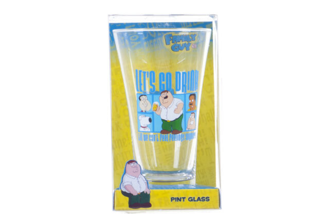 NEW OFFICIAL FAMILY GUY GIFT SET PRESENTS FAMILY GUY SOCKS GLASS PETER GRIFFIN