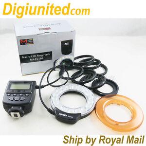 Meike-LED-Macro-Ring-Flash-Light-FC-110-for-Canon-Nikon-OM-Pentax-DSLR-Camera