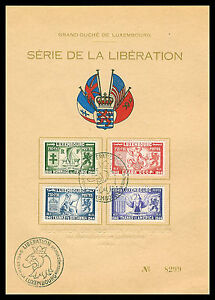 1945 Lussemburgo nel secondo guerre mondiali NR: 343/46