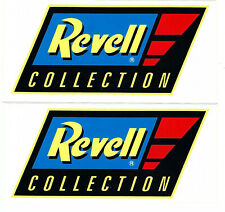 Revell Collection Racing Decals Stickers Set Of 2 Body Blue Window Auto Vinyl