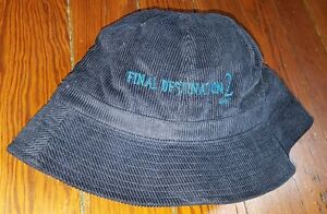 RARE-2003-FINAL-DESTINATION-2-MOVIE-PROMO-HAT-ALI-LARTER-TONY-TODD-HORROR