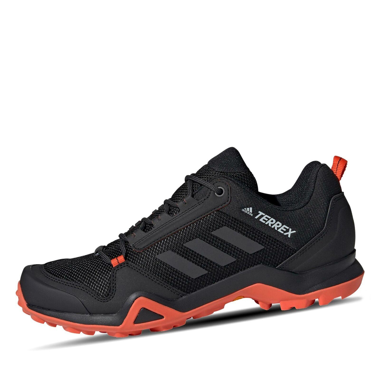 Adidas Terrex AX3 Herren Outdoorschuh Sporschuhe Freizeit Schuhe schwarz Orange