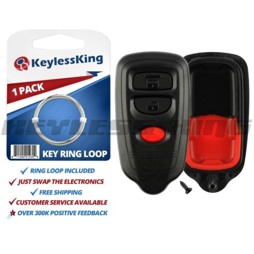 Replacement Shell Pad Case Only for Isuzu Honda HYQ1512R Entry Car Key Fob