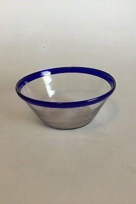 mexicanske glas med blå kant