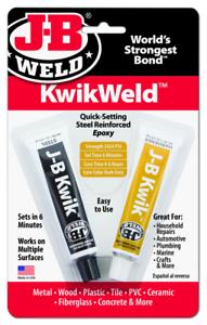 Jb Weld-kwikweld Kwik Weld-prise Rapide Epoxy-afficher Le Titre D'origine