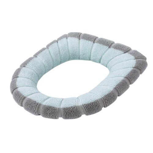 Bathroom Toilet Seat Closestool Washable Soft Warmer Mat Cover Pad Cushion HOT