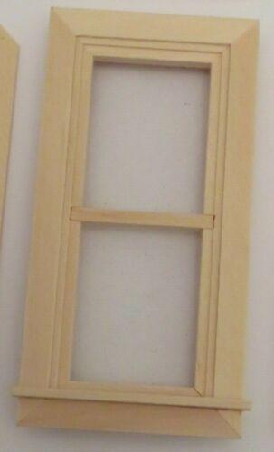 24th Scale Dolls HouseTraditional Window with internal trim glazed.