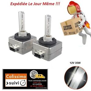2-AMPOULES-D1S-35W-12V-XENON-KIT-HID-6000K-LAMPE-PEUGEOT-307-407-508-607-807